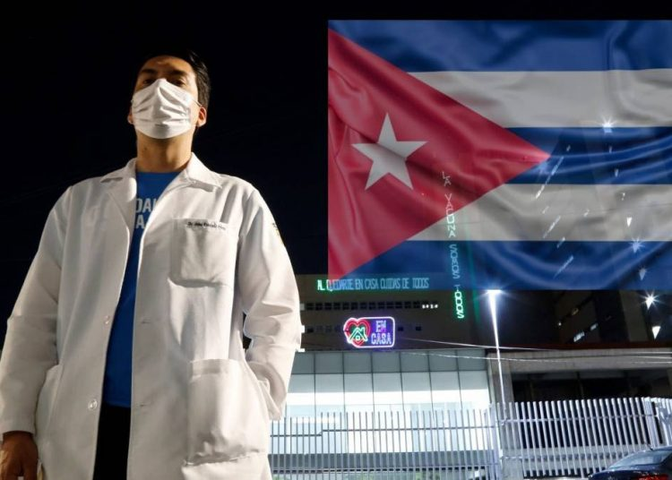 This Saturday the last group of health collaborators who remained in Mexico returned to Cuba. Photo: mexico.as.com/Archive.