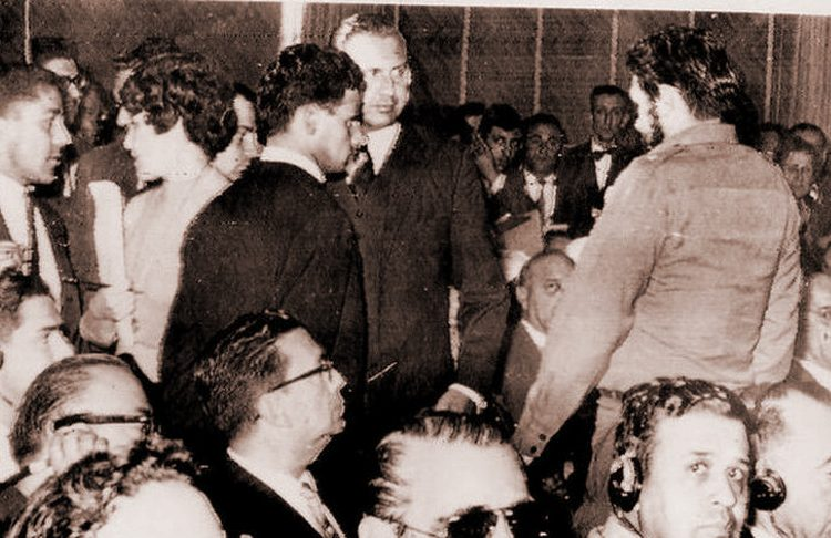Che Guevara in Punta del Este, 1961.