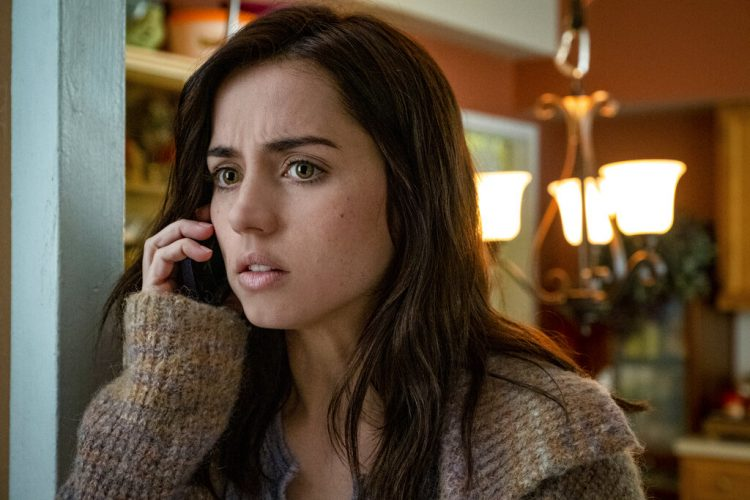 "In this image released by Lionsgate, Cuban actress Ana de Armas in a scene from the film ""Knives Out,"" for which she was nominated for best comedy and musical actress at the Golden Globes Awards. Photo: Claire Folger/Lionsgate via AP."