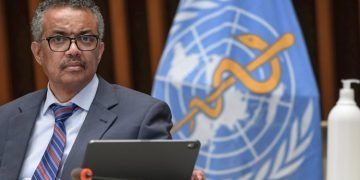 The director general of the World Health Organization (WHO), Tedros Adhanom. Photo: EFE/EPA/FABRICE COFFRINI/Archive