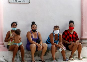Twelve of the 15 Cuban provinces reported COVID-19 cases today. Photo: Yander Zamora/EFE.
