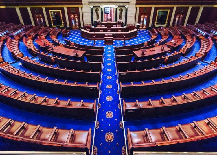 The United States House of Representatives. Photo: Wikipedia Commons.