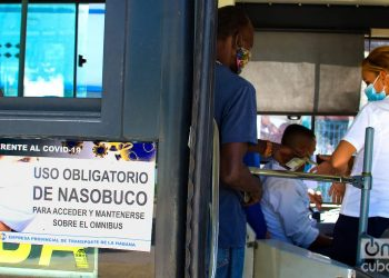 Buses have rules for transporting passengers. Photo: Otmaro Rodríguez