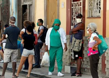 The 46 COVID-19 cases in Cuba today were detected or correspond to Havana, Artemisa, Pinar del Rio, Villa Clara and Mayabeque. Photo: Ernesto Mastrascusa/ EFE