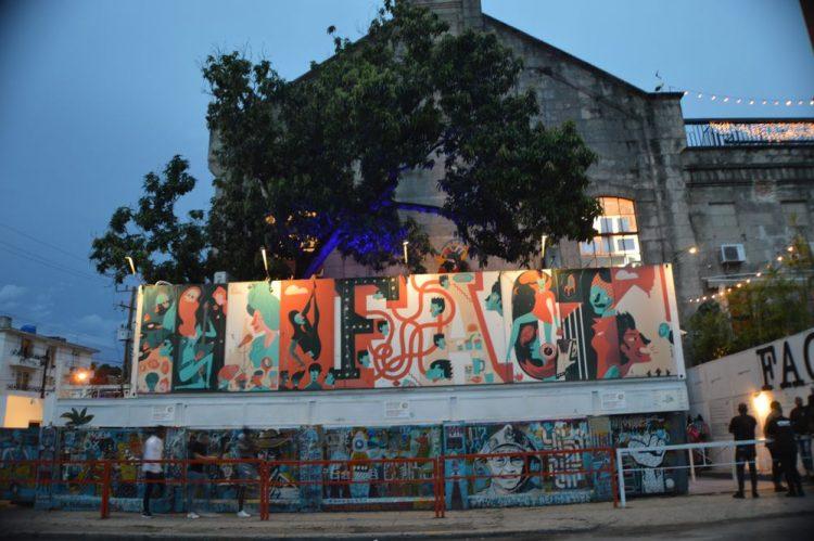 Fábrica de Arte Cubano, located in the El Carmelo People's Council, in El Vedado neighborhood, in Havana. Photo: Ángel Marqués Dolz/Archive.