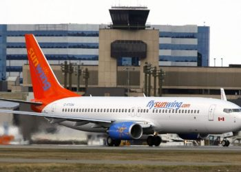 Sunwing Airlines will be one of the airlines that will operate trips between Cuba and Canada. Photo: espac.com.cu