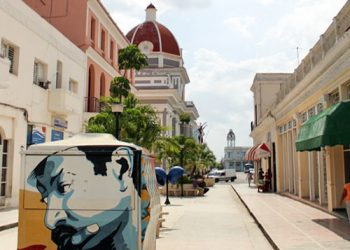 The Boulevard of Cienfuegos. Photo: Cuban Adventures.
