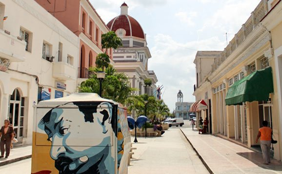 The Boulevard of Cienfuegos. Photo: Cuban Adventures.