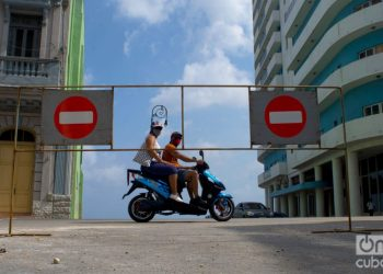 The Cuban capital remains with restrictions to try to stop the increase and spread of coronavirus cases. Photo: Otmaro Rodríguez