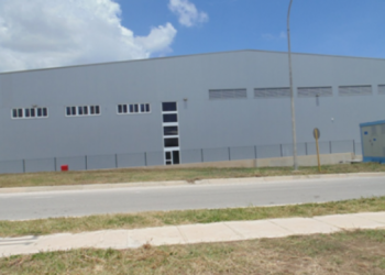 Building of the Spanish company TOT COLOR S.A. in the Mariel Special Development Zone. Photo: www.zedmariel.com