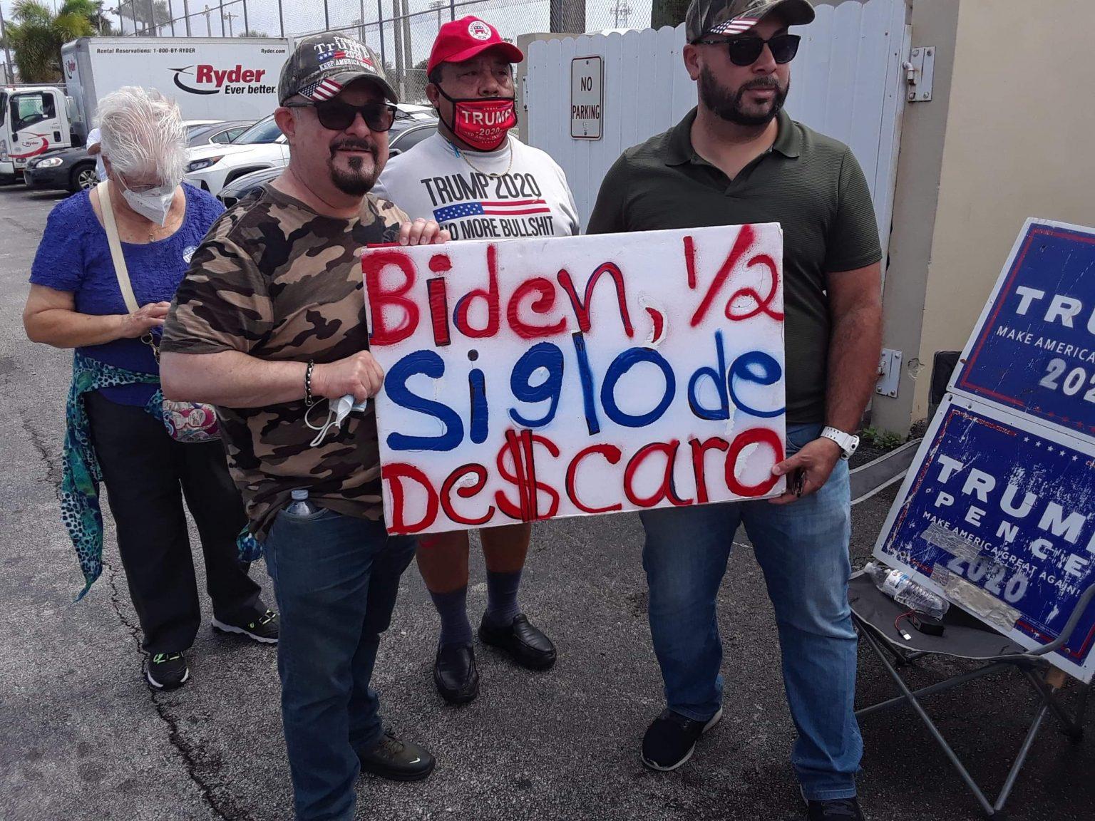 The emotive Cuban American vote for Donald Trump in Miami