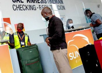 The company began its flights to the island in February 2017, and since then it has maintained stable connections with the Cuban travelers' market, motivated by the prices of products bought in Haiti and in high demand on the island. Photo: @SunriseAirways/Twitter.