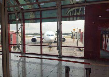 José Martí International Airport in Havana. Photo: Mónica Rivero.