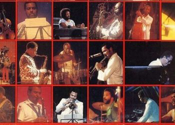 Musicians who participated in the Havana Jam Festival in 1979.