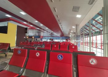 Image of Havana Airport, this week. Photo: Mónica Rivero.