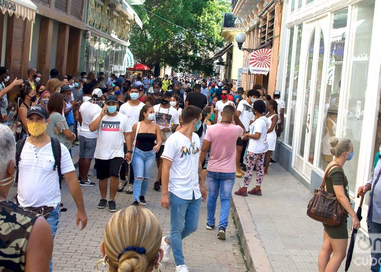 Cuba reported 100 new cases of COVID-19, 33 of them in Havana. Photo: Otmaro Rodríguez/Archive.