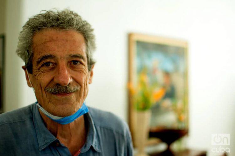 Fernando Pérez, National Film Award (2007). Photo: Otmaro Rodríguez.