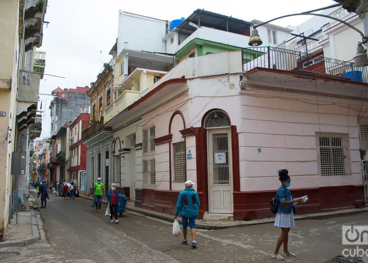 Empedrado Street, in Havana. Photo: Otmaro Rodríguez.