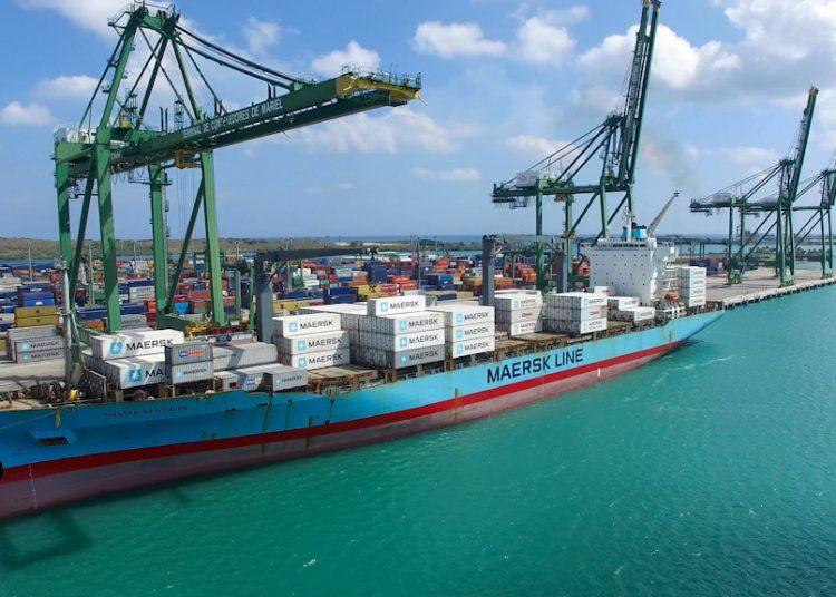 Container terminal in the Mariel Special Development Zone, in Cuba. Photo: @ZEDMarielCuba/Twitter/Archive.