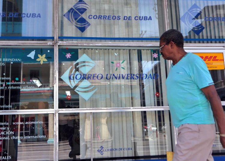 Cuban Post Office: Photo: elrio.ec/Archive.