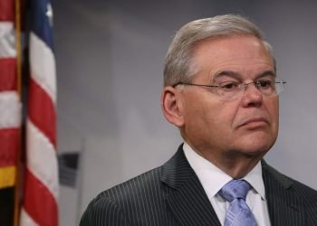 Senator Bob Menendez in an archive image. | Mike Wilson/Getty