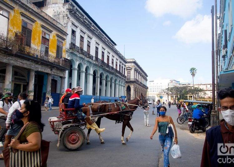 Egido Street, or Bélgica Avenue, in Havana. Photo: Otmaro Rodríguez.