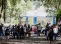 Cubans queuing in front of the Panamanian embassy in Havana to obtain a tourist card, November 2018. Photo: Otmaro Rodríguez/OnCuba Archive.