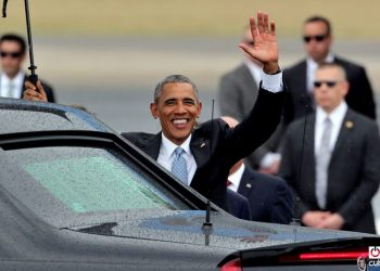 Barack Obama on an official visit to Cuba, March 2016. Photo: Alejandro Ernesto.