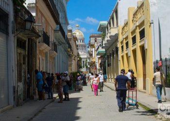 The commerce in Havana