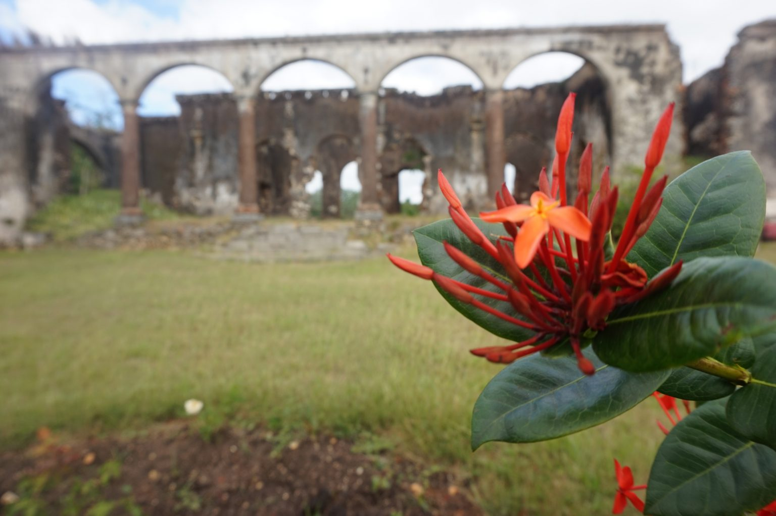 Ruins of rural Cuba