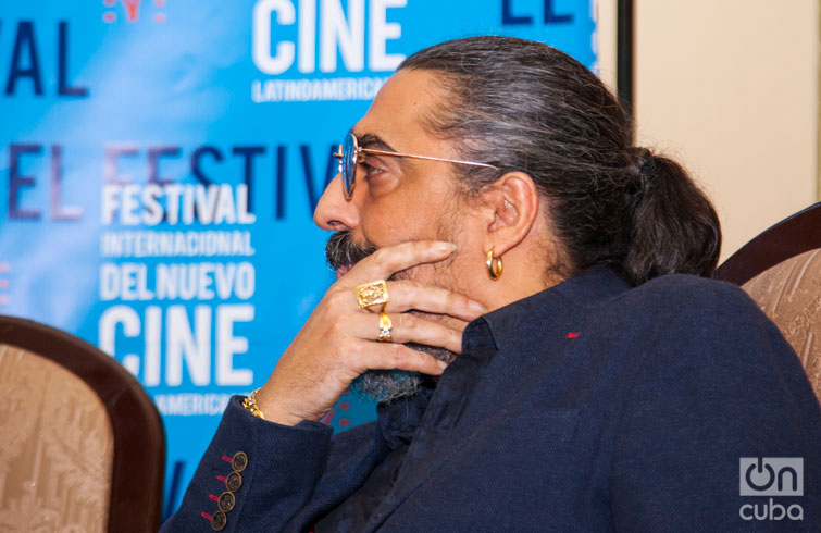 Diego El Cigala en el 39 Festival Internacional del Nuevo Cine Latinoamericano. Foto: Claudio Pelaez Sordo.