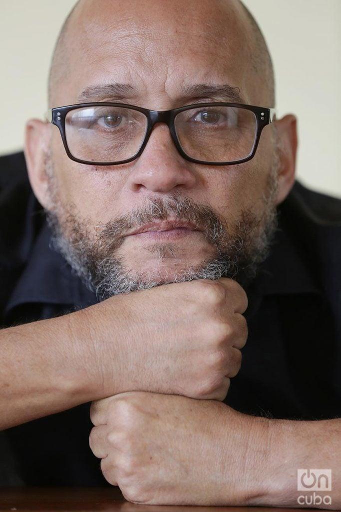 Mario Guerra es protagonista de algunas de las escenas de más impacto en el cine y el teatro cubanos. Foto: Gabriel Guerra Bianchini.