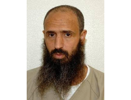 Undated image of Abdellatif Nasser in the Guantanamo Bay detention center, distributed by Attorney Shelby Sullivan-Bennis on December 11. Photo: Shelby Sullivan-Bennis via AP.