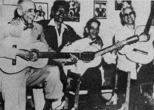 Rosendo Ruiz, Manuel Corona, Sindo Garay y Alberto Villalón, de izquierda a derecha. Foto: Acn.