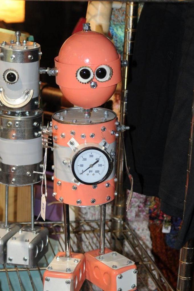 """""""Los robots son mi pan con mantequilla"""". Foto: Beatriz Limón / EFE."""