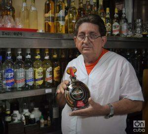 Francisco Javier Sabat González creó casi todos los rones que se consumen hoy en Pinar del Río. Foto: Glendy Hernández.