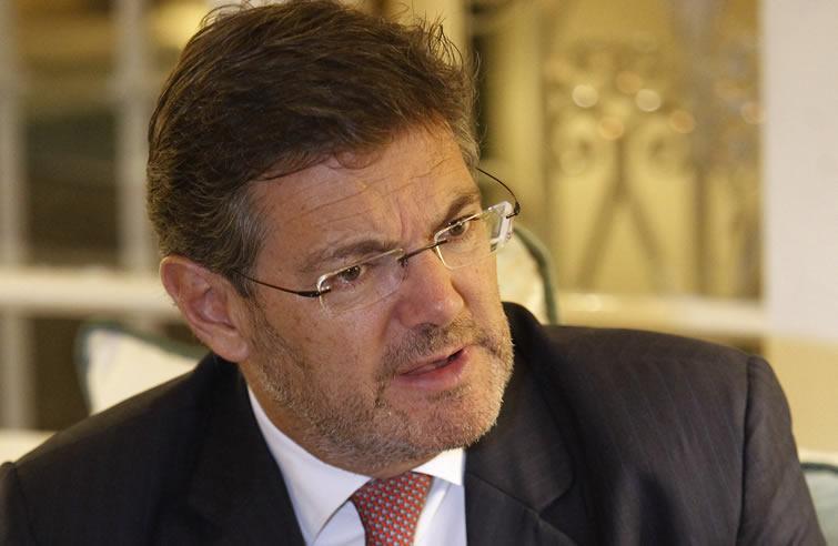 El ministro de Justicia de España Rafael Catalá. Foto: Ernesto Mastrascusa / EFE.