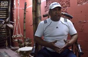 Carlos Martínez, creador de Bambú Centro. Foto: Otmaro Rodríguez.