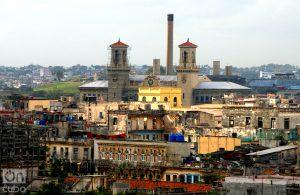 Las dos torres son de la Estación Central de Ferrocarril. Foto: Otmaro Rodríguez.