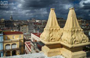 Una vista de La Habana. Al fondo la cúpula del Capitolio Nacional. Foto: Otmaro Rodríguez.