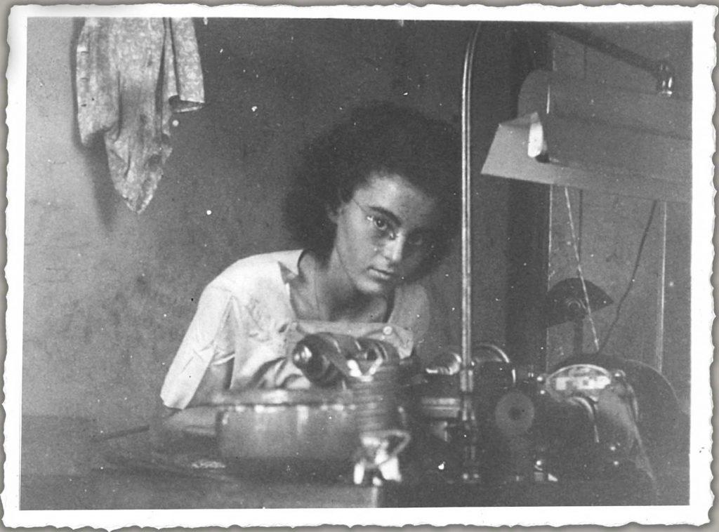 Marion Finkels Kreith, madre de Judy.
