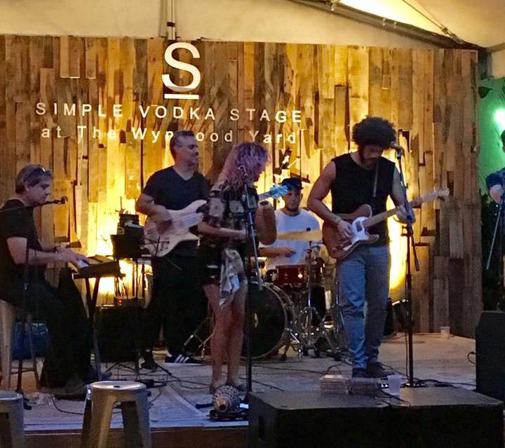 Picadillo durante una presentación en The Wynwood Yard. Foto: Evento en Facebook de la agrupación.