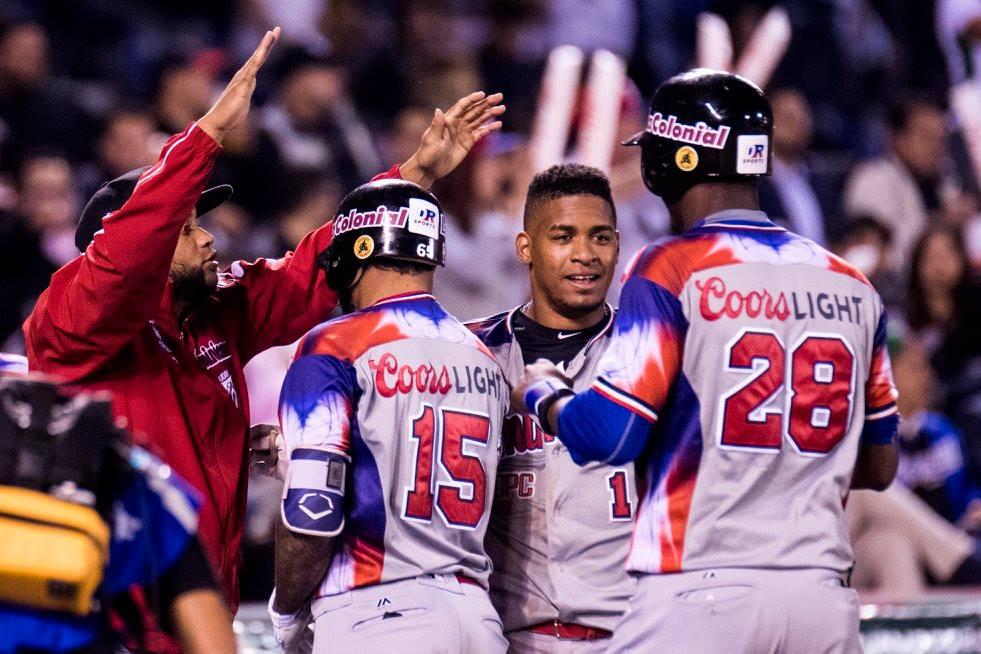 Dominicana derrotó 7 por 4 a Cuba en las semifinales de la Serie del Caribe. Foto: @SDCJalisco2018 / Facebook.