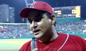 Eulogio cuando era director de Industriales. Foto: Captura de pantalla de Academia de Beisbol de Eulogio Vilanova.