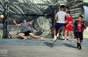 Algunas áreas deportivas tienen sus campeonatos. Foto: Otmaro Rodríguez.