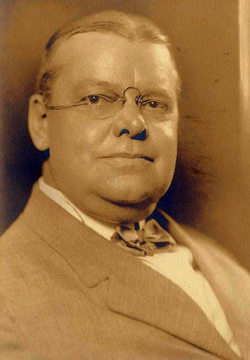 El ingeniero estadounidense Jennings S. Cox, en 1910. Foto: Archivo de Ignacio Fernández Díaz.
