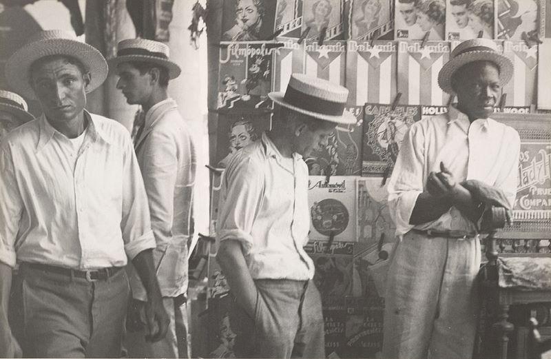 Cuba en la década de 1930. Foto: Walker Evans.