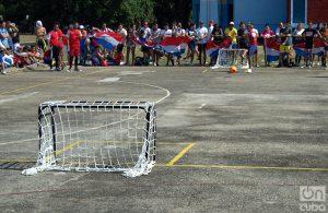 El tiro de penalti se usó para definir los juegos empatados. Foto: Otmaro Rodríguez.