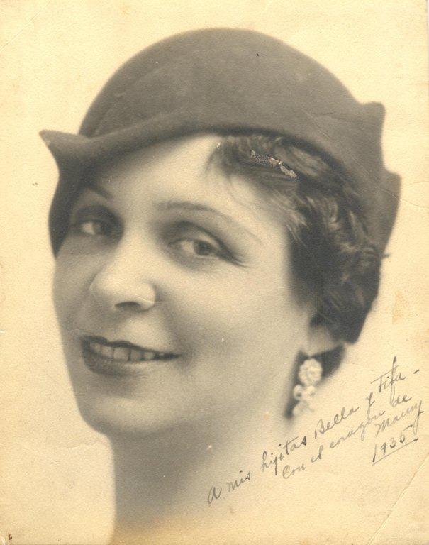 JOSEFINA BADÍA BAEZA, 1935