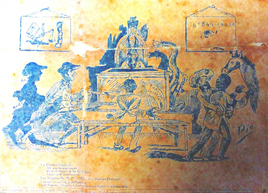 Liborio y José Rosario 1909.